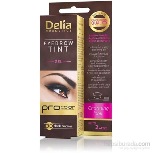 Delia Cameleo Kaş Boyası Gel Dark Brown 15Ml