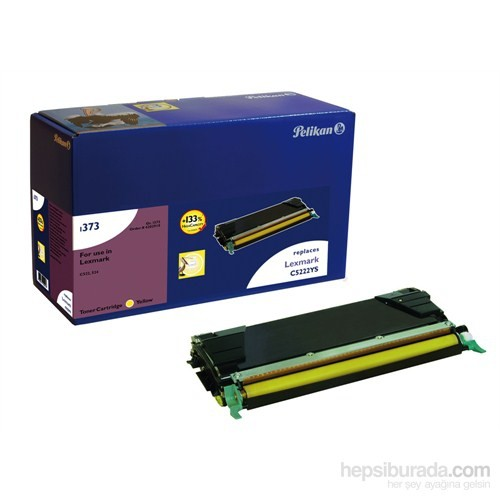 Pelikan Lexmark C5520/C5240 YG Toner (4202918) - Sarı