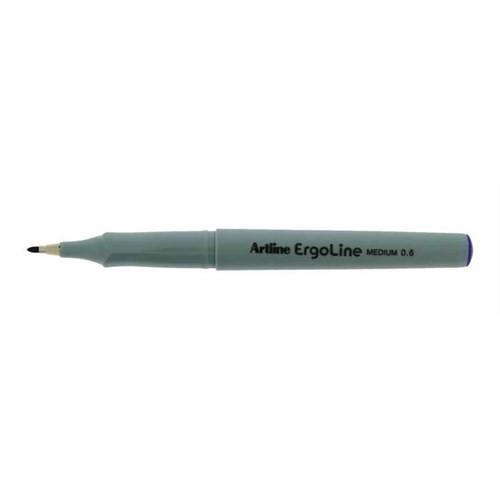 Artline Erg-3600 Siyah Keçe Uçlu Kalem 0,6Mm Uç Kalınlığı
