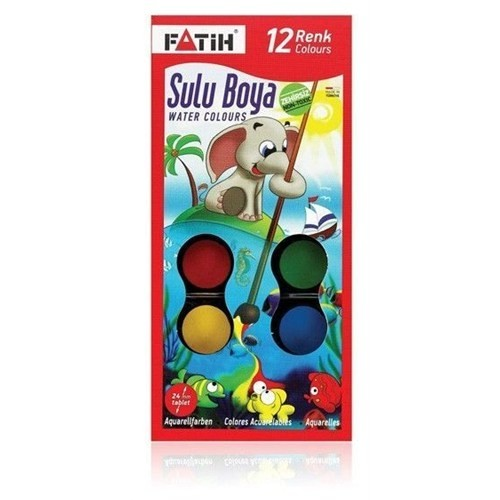Fatih 904 S12 Sulu Boya 12li Fiyatı Taksit Seçenekleri