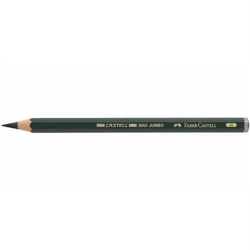 Faber-Castell 9000 Dereceli Jumbo Kurşunkalem 4B