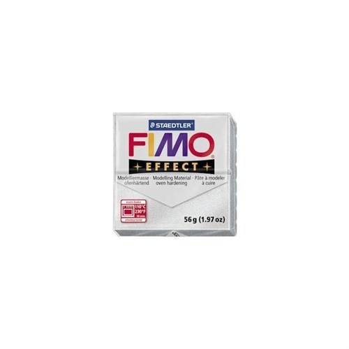 Fimo Effect Metalik Gümüş 8020-81 56Gr.
