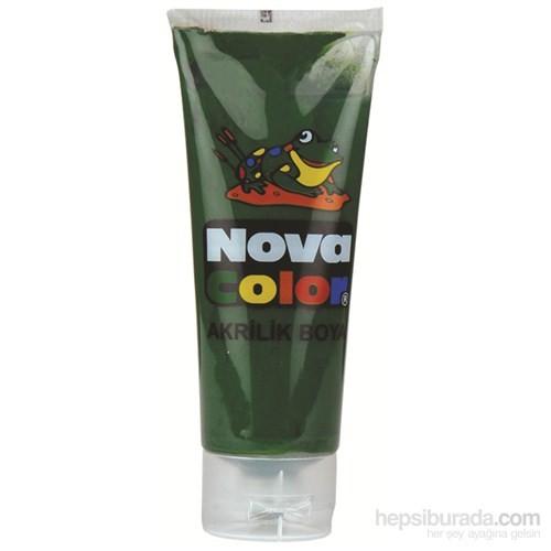Nova Color Nc-258 Akrilik Boya Plastik Tüpte 75 gr Yeşil