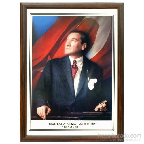 Akyazı 50x70 Atatürk (Mdf Çerçeve)