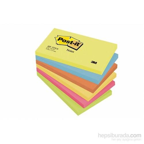 Post-it® Not, Enerji Serisi, Pastel Tonlari, 6 renk x 6 blok, 100 yaprak, 76x127mm