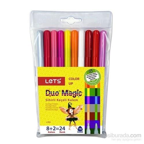 Lets Duo Magic Sihirli Keçeli Kalem L-7010