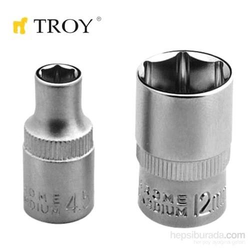 """Troy 26151 1/4"""" Lokma (Ölçü 12Mm-Çap 16,8Mm-Uzunluk 25Mm)"""