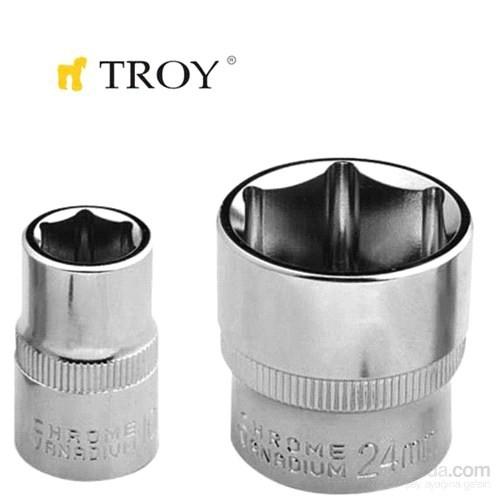 "Troy 26169 3/8"" Lokma (Ölçü 15Mm-Çap 21,8-Uzunluk 28Mm)"