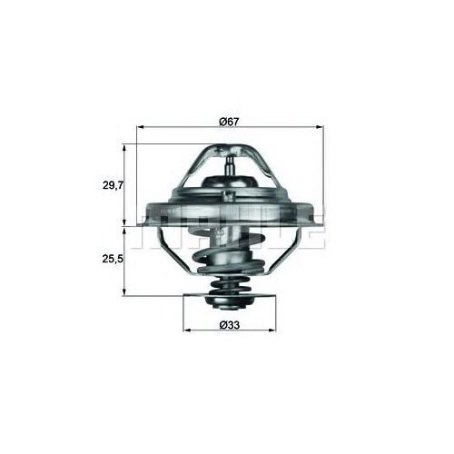 Behr Tx3880d Marka: Bmw - E36/39/38 - Yıl: 91-01 - Termostat - Motor: M51