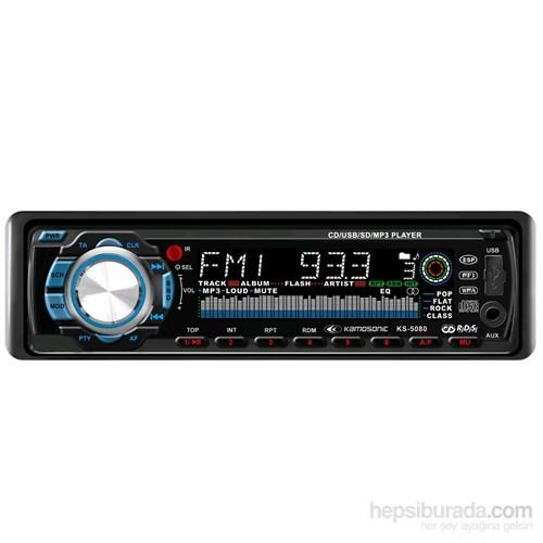 KAMOSONIC KS-5080 Oto Radyo CD Çalar