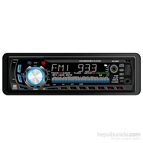 Kamosonic KS-5081 Oto Radyo CD Çalar