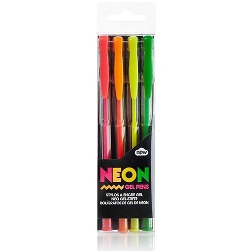 Npw Neon Gel Pens - Neon Jel Kalemler