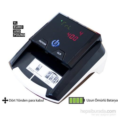 Mühlen - Zoom 4 /TL-USD-EURO-GBP %100 Sahte Tespit Oranı , 4 Yönden Otomatik Para Tanıma(Uzun Ömürlü Bataryası İle Beraber)
