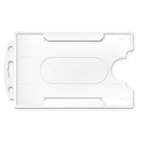 Mas 3522 Plastik Kart Muhafaza - Dikey-54X86-Beyaz 50 Li,