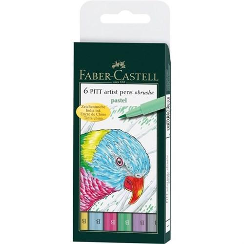 Faber Castell Pitt Çizim Seti Pastel Tonlar 16716