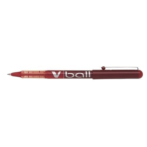 Pilot V-Ball 0.5 - Kırmızı Blister 7230307