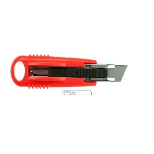 Mas Maket Bıçağı- Yaylı Güvenlik -Plastik Gövde-No:18