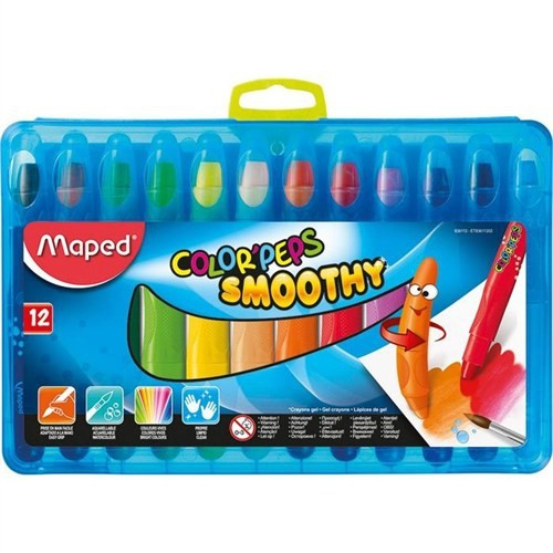 Maped Pastel Boya Color'peps Smoothy 12 Renk 836112