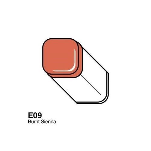 Copic Typ E - 09 Burnt Sienna
