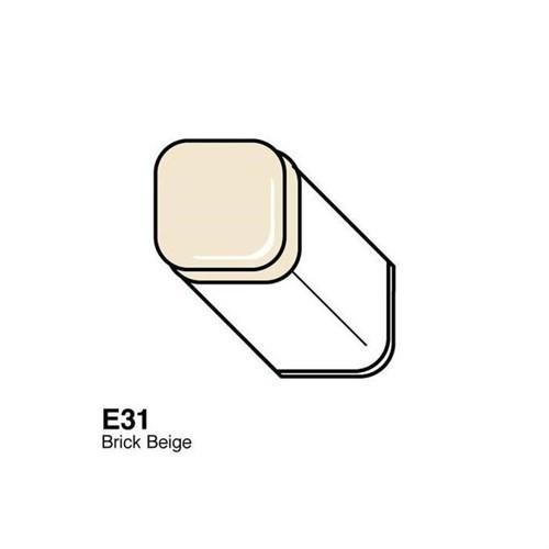 Copic Typ E - 31 Brick Beige