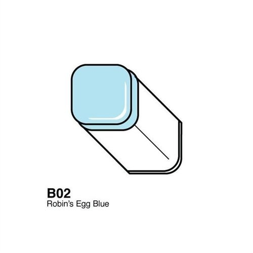 Copic Typ B - 02 Robin's Egg Blue
