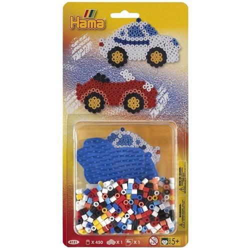 Hama Küçük Blister Set - Arabalar