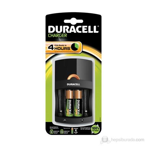 Duracell CEF 14 Pil Şarj Aleti + Şarj Edilebilir AA Kalem Pil 1300 mAh 2'li Paket