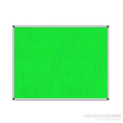 Akyazı 120x120 Duvara Monte Kumaşlı Pano (Yeşil)