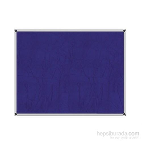 Akyazı 90x120 Duvara Monte Kumaşlı Pano (Mavi)