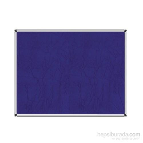 Akyazı 120x240 Duvara Monte Kumaşlı Pano (Mavi)