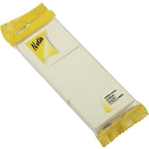 Notix Patel Sarı 3'lü 100 Yp. 50x40 mm Yapışkanlı Not Kağıdı (N-PS-5040-3-FP)