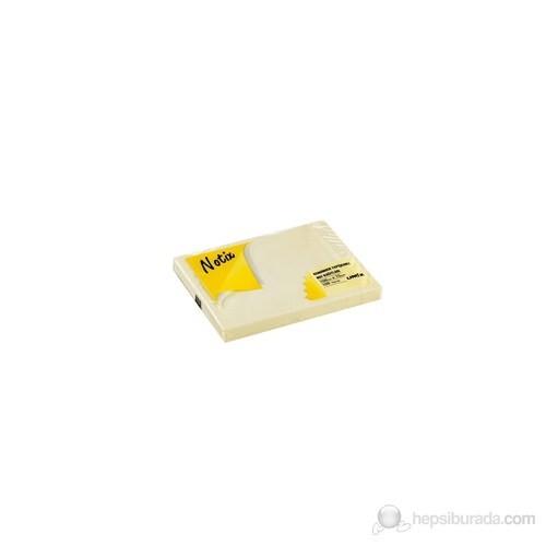 Notix Pastel Sarı 100 Yaprak 100x75 Yapışkanlı Not Kağıdı