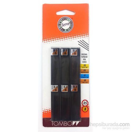 Tombow Min 0.5mm B 6'lı Blister