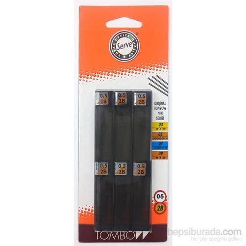 Tombow Min 0.5mm 2B 6'lı Blister