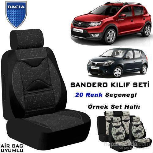 Dacia Sandero Koltuk Kılıfı Seti 1Kalite Air Bag