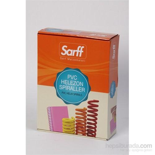 Sarff 12 mm Pvc Helezon Spiral Şeffaf (4:1) 100 adet 15210019