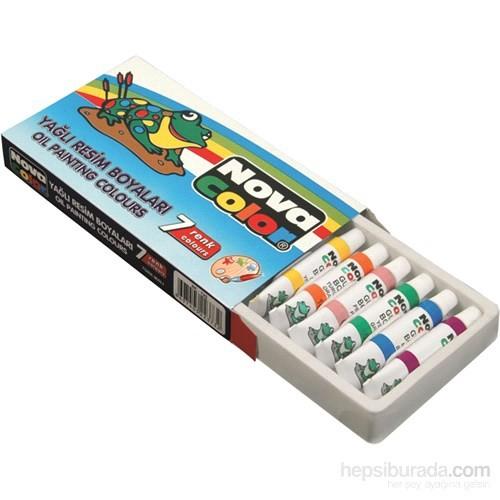Nova Color Nc-125 Yağlı Boya 7 Renk Tüp