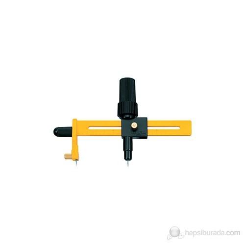 Olfa 4-22 Cm Arası Çaplarda Düz-Açılı Daire Kesimi Yapan Yuvarlak Maket Bıçağı (Cmp-3)