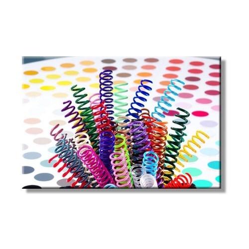Mapicoil 12mm Plastik Helezon Spiral Şeffaf 100 Lü (235 12 04)