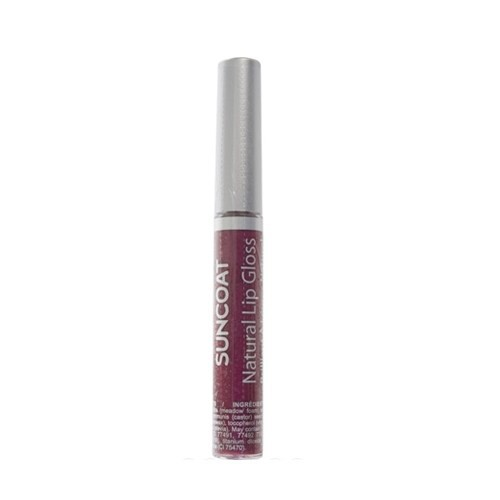 Suncoat Doğal Lip Gloss - Perfect Plum
