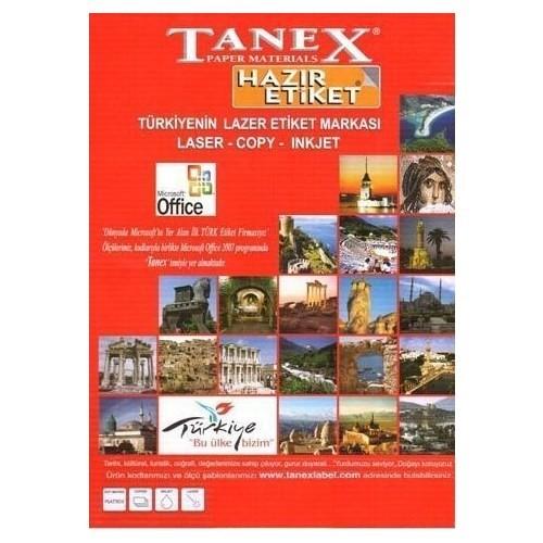 Tanex Tw-2280 Etiket 22 X 12Mm
