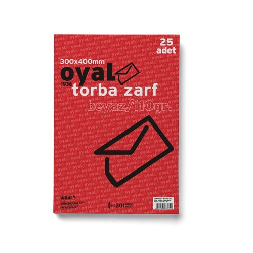 Oyal Torba Zarf(30X40)Byz 110Gr-Slk-25Li