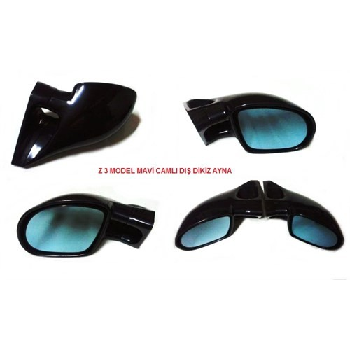 Schwer Z3 Model Mavi Camlı Sağ Sol Ayna