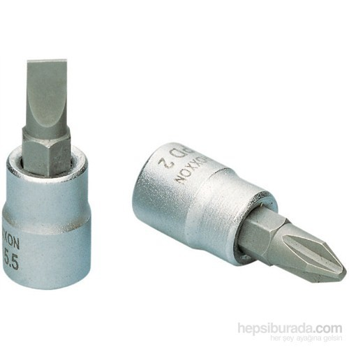 "Proxxon 23742 1/4"" Düz Lokma Bits Ucu- 8 mm"