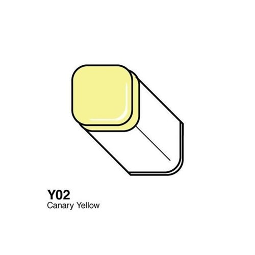 Copic Typ Y - 02 Canary Yellow