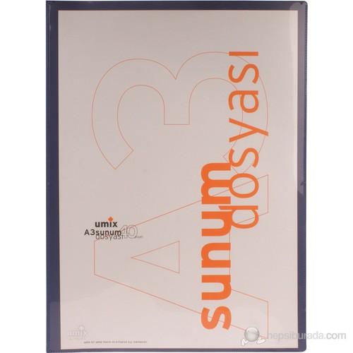 Umix Standart Sunum Dosyası A3 40'lı-la.
