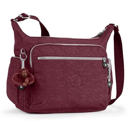 Kipling Gabbie Basic Omuz Çantası Kırmızı K15255a12