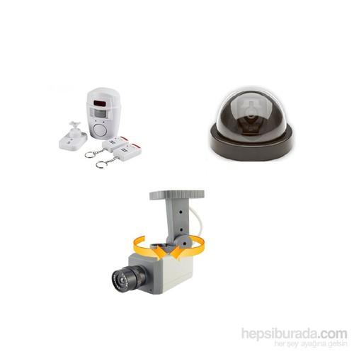 Angel Eye Hareket Sensörlü Sahte Kamera Ve Kablosuz Hırsız Alarmı Seti Model2