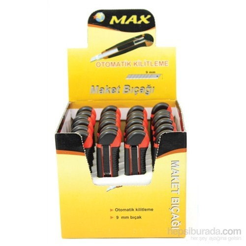 Max-Maket Maket Bıçağı Rm-29051 (1 kutu / 24 adet)