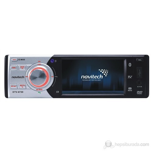 """Navitech DTV-6700 3.5"""" Lcd Araç Tv-Multimedya Oynatıcı"""